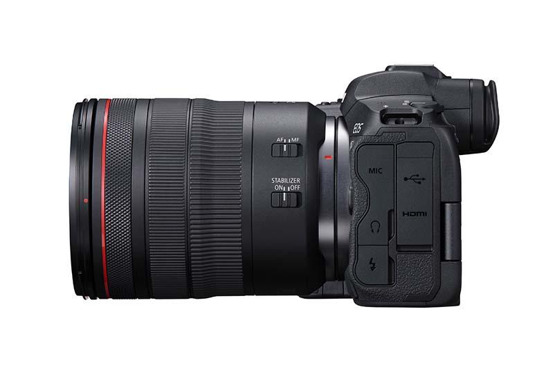 Canon R5 Left